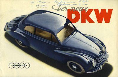 DKW Meisterklasse Prospekt 3.1951 0
