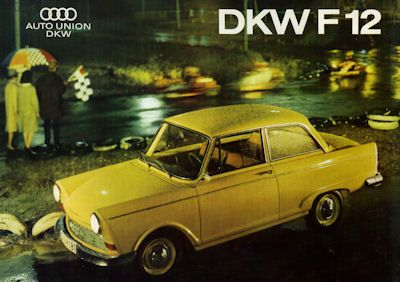 DKW F 12 Prospekt 1964