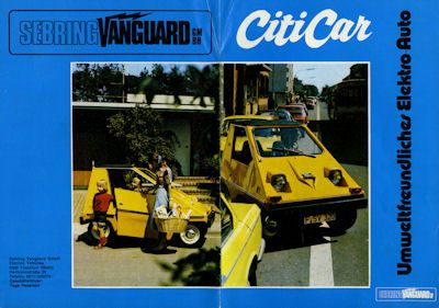 Sebring CitiCar Prospekt ca. 1974 0