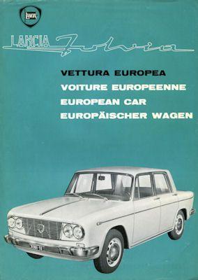 Lancia Fulvia Prospekt 1964 0