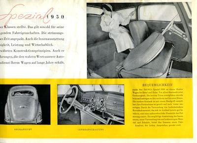 Ford Taunus Spezial Prospekt 1950 2