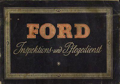 Ford Inspektions- und Pflegedienst 1954 0