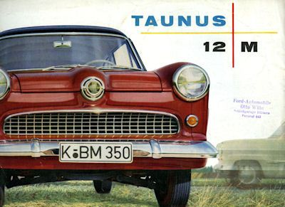 Ford Taunus 12 M Prospekt 1957 0