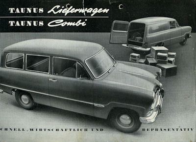 Ford Taunus 12 M Prospekt 1957 1