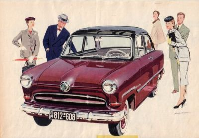 Ford Taunus 12 M Prospekt 1955 0