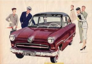 Ford Taunus 12 M Prospekt 1955