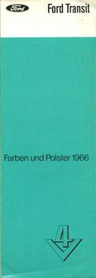 Ford Transit Farben 1966 0
