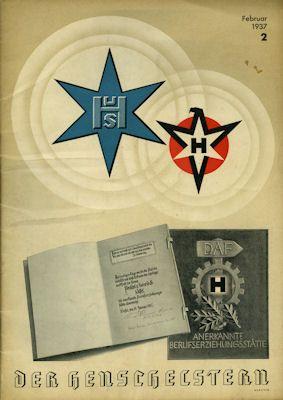 Henschel Werkszeitung Der Henschelstern 1937 Heft 2 0