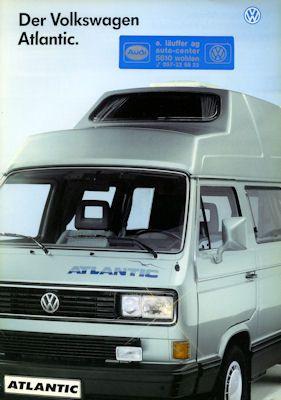 VW T 3 Atlantic Prospekt 1.1990 0