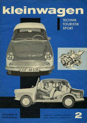 Kleinwagen 1959 Heft 2 0