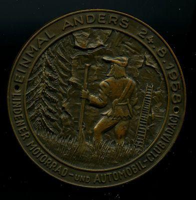 Plakette Lindener A.-M. Club 24.8.1958 0