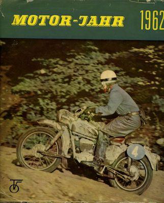 Motor-Jahr DDR-Jahresband 1962 0