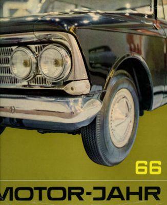 Motor-Jahr DDR-Jahresband 1966