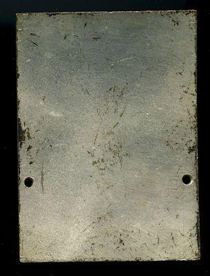 Plakette Bad Brückenau 1968 1