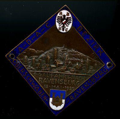 Plakette Ravensbrück 12.5.1929 0