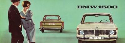 BMW 1500 Prospekt 6.1962 0