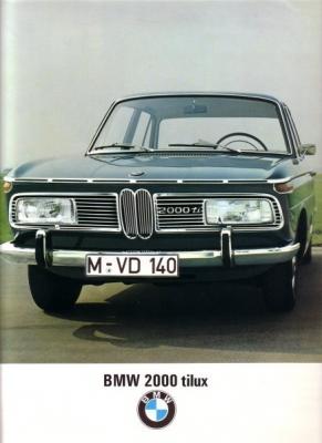 BMW 2000 tilux Prospekt 12.1967 e 0