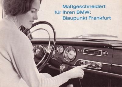 Blaupunkt Radio Frankfurt (für BMW) Prospekt 7.1965 0
