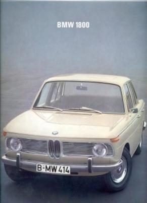 BMW 1800 Prospekt 12.1967 0