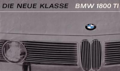 BMW 1800 TI Prospekt 1964 0