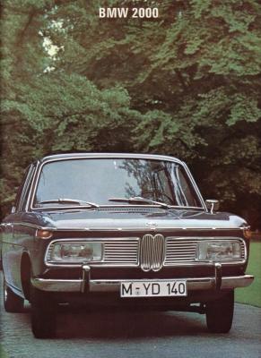 BMW 2000 Prospekt I.1967 0