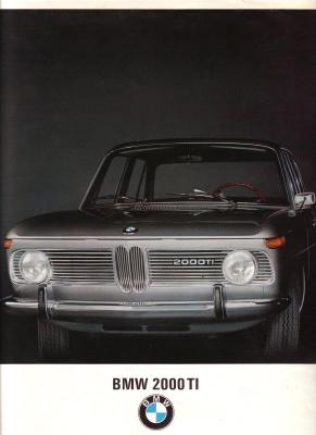 BMW 2000 TI Prospekt I.1967 0