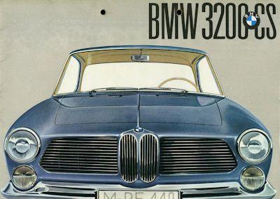 BMW 3200CS Prospekt 9.1961 0