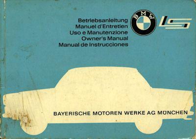 BMW LS Bedienungsanleitung 10.1962 0