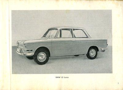 BMW LS Bedienungsanleitung 10.1962 1