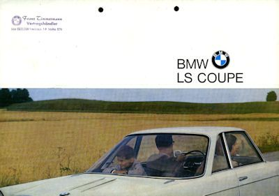 BMW LS Coupe Prospekt 8.1965 0