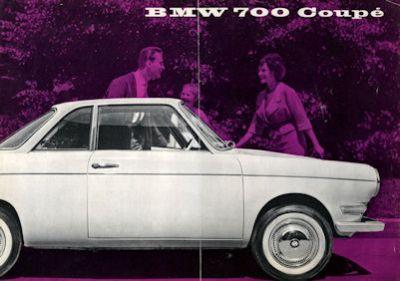 BMW 700 / 700 Coupe Prospekt 9.1959