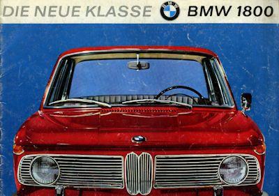 BMW 1800 Prospekt 6.1964 0