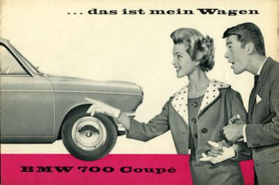 BMW 700 / 700 Coupé Prospekt 8.1959