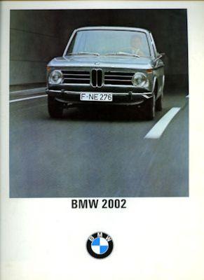 BMW 2002 Prospekt 12.1967 0