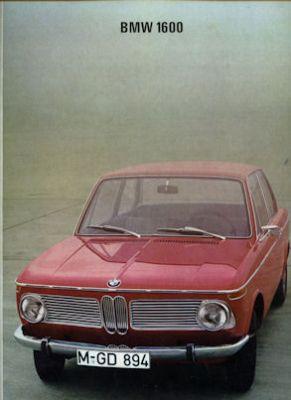 BMW 1600 Prospekt 12.1967