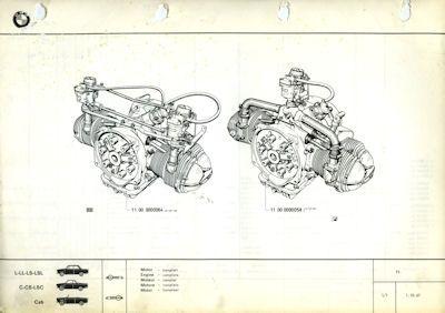 BMW 700 Ersatzteilliste 10.1967 2