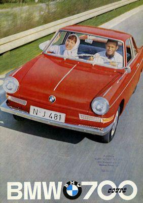 BMW 700 Coupé Prospekt 2.1961 e
