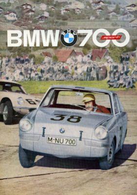 BMW 700 Sport Prospekt 1963 holl 0