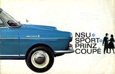 NSU Sport Prinz Coupe Prospekt 6.1962 0