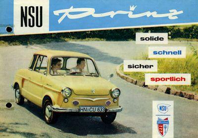 NSU Prinz Prospekt 8.1959