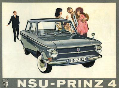 NSU Prinz 4 Prospekt 9.1961