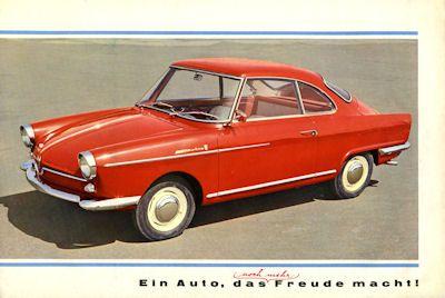 NSU Sport Prinz Prospekt 2.1960 1