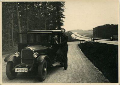 Foto Opel / Autobahn 1930er Jahre