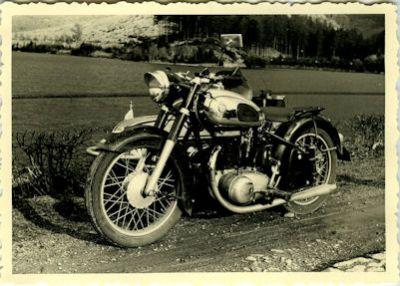 Foto Horex Regina 1950er Jahre 0