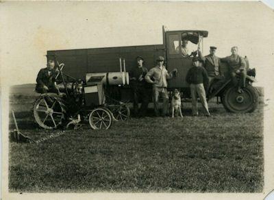 Foto Lkw und Schlepper unbekannt 1920er Jahre 0