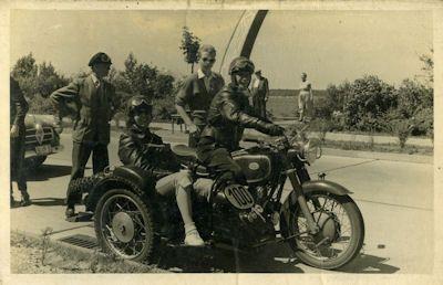 Foto Zündapp KS 601 1950er Jahre 0