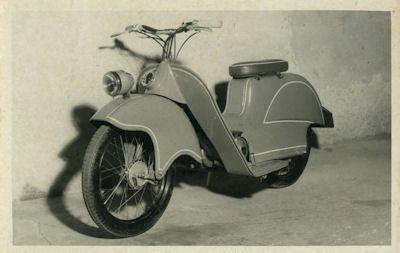 Foto Kleinschnittger Roller 1950er Jahre 0
