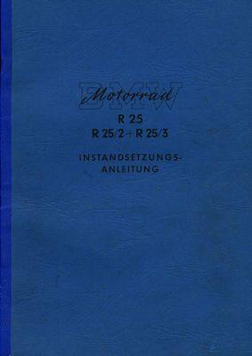 BMW R 25, 25/2 und 25/3 Reparaturanleitung 1950er Jahre