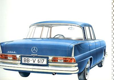 Mercedes-Benz 220 S/SE Prospekt 7.1959 1