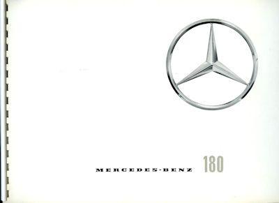Mercedes-Benz 180 Prospekt 7.1959 0